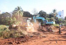 Cưỡng chế thu hồi đất dự án kè chống sạt lở suối Hội Phú
