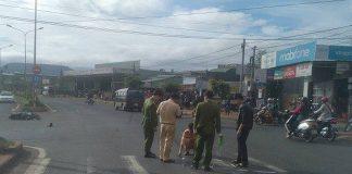 Gia Lai: Tiếp tai nạn kinh hoàng, ô tô khách tông liên hoàn 2 xe máy, 4 người thương vong