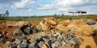 Gia Lai: Lợi dụng mua đấu giá để khai thác đá trái phép?