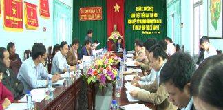 Mang Yang triển khai thực hiện sáp nhập thôn, tổ dân phố