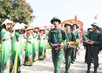 Dự kiến trên địa bàn Gia Lai có 2.250 thanh niên nhập ngũ. Ảnh nguồn internet