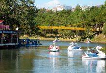 Công viên Diên Hồng cũng thu hút đông đảo du khách đến tham quan. (Ảnh nguồn internet)