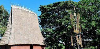 """Làng Ốp (phường Hoa Lư, TP. Pleiku)-một trong những ngôi làng nằm trong """"đích ngắm"""" để tập trung đầu tư, xây dựng mô hình DLCĐ của tỉnh.      Ảnh: ĐỨC THỤY"""