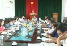 Đại diện Doanh nghiệp không đến tham dự cuộc họp đối thoại do UBND TP. Pleiku tổ chức. Ảnh: M.N
