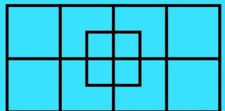 Đố bạn có bao nhiêu hình vuông trong bức tranh này?