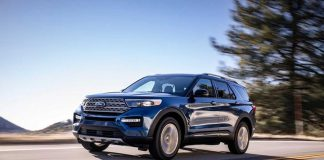 Ford Explorer 2020 trang bị lốp có khả năng tự vá