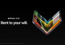 Mê mẩn với ý tưởng iPhone X Fold cực đẹp, lấy cảm hứng từ Galaxy Fold