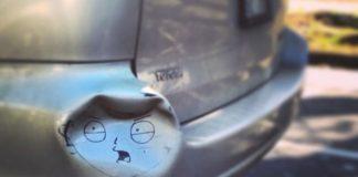 Móp méo, trầy xước xe chẳng phải là điều tồi tệ nếu bạn biết cách sáng tạo như bộ ảnh này