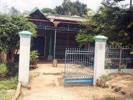 Căn nhà của ông Trần Thanh Tùng hiện đã đóng cửa. Ảnh: V.N