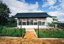 Căn nhà với thiết kế mở tại homestay XOM. Ảnh: Trần Dung