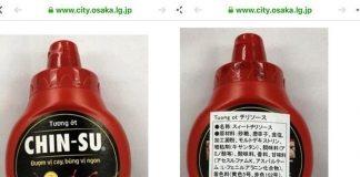 Hơn 18.000 chai tương ớt Chinsu bị thu hồi: Bài học cho hàng Việt vào Nhật