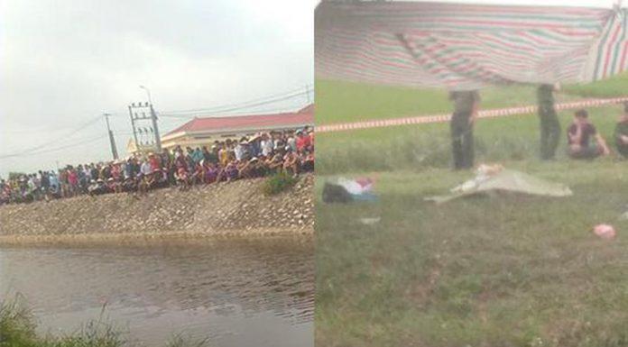 Phát hiện thi thể nam thanh niên có nhiều vết thương dưới sông Sậy