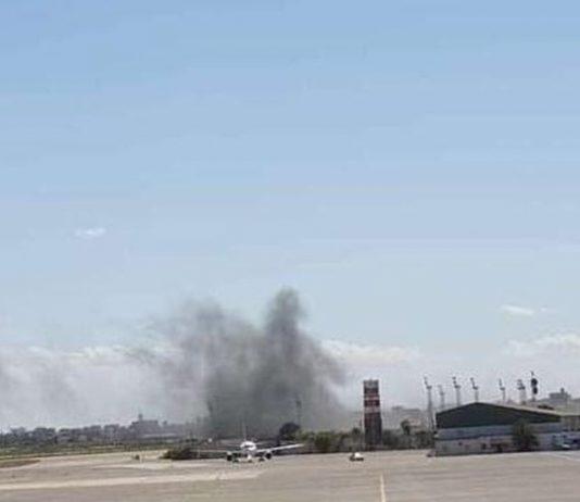 Quân đội quốc gia Libya không kích sân bay Maitika ở Tripoli