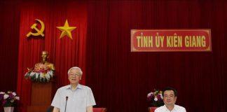 Tổng Bí thư, Chủ tịch nước: Kiên Giang cần phát huy mạnh mẽ và hiệu quả tiềm năng, thế mạnh