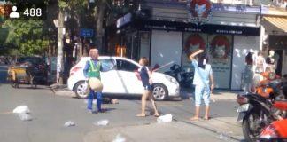 Đánh cô lao công, chủ shop áo quần bị phạt vì xâm phạm sức khỏe người khác