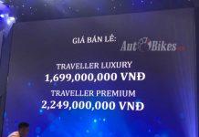 Peugeot Traveller giá từ 1,7 tỷ đồng tại Việt Nam