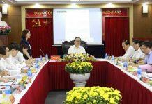 Bí thư Thành ủy Hà Nội Hoàng Trung Hải làm việc với Quỹ Đầu tư phát triển thành phố
