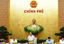 Chính phủ họp phiên thường kỳ tháng 4