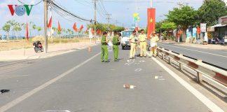 Tai nạn giao thông ở Vĩnh Long khiến 2 người nguy kịch
