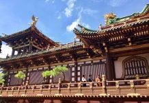 Một quần thể kiến trúc tâm linh uy nghiêm mang màu sắc văn hóa Á Đông