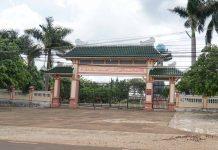 Công trình nghĩa trang liệt sĩ huyện Đức Cơ. Ảnh: Văn Ngọc