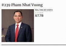 Ty phu Pham Nhat Vuong bo tui them 1 ty USD sau 6 thang dau nam 2019 hinh anh 1