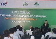 Chuyên gia Thái Lan trình bày tại Hội thảo. Ảnh: Nguyễn Diệp