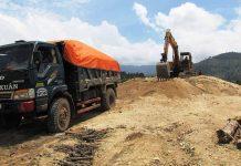 Một vụ khai thác cát trái phép tại xã Ia Mơ Nông (huyện Chư Pah) bị ngành chức năng của tỉnh phát hiện và xử lý. Ảnh: H.T