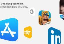 Ví Điện tử MoMo giờ đây có thể được dùng làm phương thức thanh toán cho App Store và các dịch vụ Apple khác tại Việt Nam