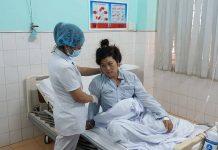Sau gần 2 tuần điều trị tích cực, bệnh nhân Thủy đã bình phục, có thể xuất viện trong thời gian tới. Ảnh: N.N