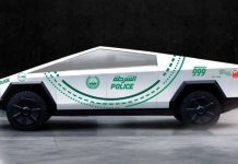 Cảnh sát Dubai tậu ngay xe bán tải Cybertruck vào danh sách xe tuần tra
