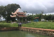 Hồ nước ông Nhạc ở làng Đê Hlang (xã Yang Nam, huyện Kông Chro). Ảnh: B.Q.V