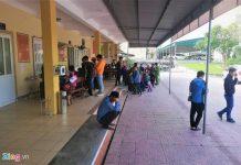 Bị nợ lương qua Tết, công nhân kéo đến trụ sở công an cầu cứu