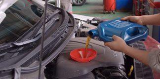thay dầu ô tô