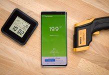 Smartphone có thể đo nhiệt độ như nhiệt kế hay không?