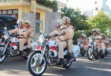 Lực lượng CSGT Công an tỉnh Gia Lai ra quân tổng kiểm soát phương tiện giao thông (ảnh internet)