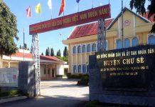 UBND huyện Chư Sê bị Thanh tra tỉnh chỉ ra mắc nhiều sai phạm. Ảnh: Văn Ngọc