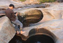 Gia Lai: Kỳ thú trải nghiệm thác Trăn trong rừng sâu - 1