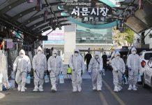 Hàn Quốc thêm 70 ca nhiễm, số người dương tính virus corona lên 833