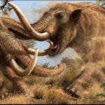 Ảnh đồ họa mô tả voi răng mấu mastodon - ảnh: WESTERN SCIENCE CENTER