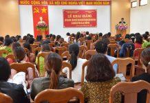 Gia Lai: Khai giảng lớp xoa bóp-bấm huyệt cho phụ nữ có hoàn cảnh khó khăn và người mù