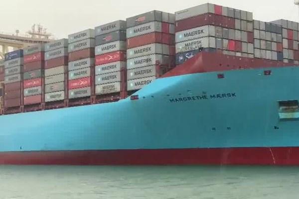 Bà Rịa – Vũng Tàu đón tàu container lớn nhất thế giới ảnh 1
