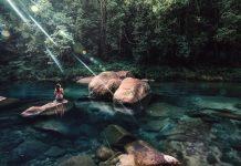 Truyền thuyết về nữ quỷ trong hồ Babinda Boulders, Úc đã có từ lâu (ảnh: Daily Mail)