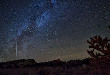 Mưa sao băng Orionid - Ảnh: BRIAN SPENCER