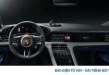 Porsche Taycan trở thành mẫu xe đầu tiên tích hợp Apple Podcasts