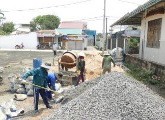 Pleiku đẩy mạnh đầu tư chỉnh trang hạ tầng đô thị