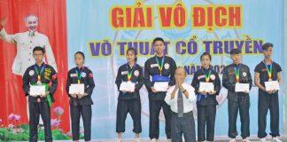 Giải Võ thuật cổ truyền tỉnh Gia Lai năm 2020: Câu lạc bộ Nguyễn Tấn Đô giành giải nhất toàn đoàn