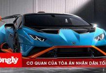Lamborghini Huracan STO ra mắt có giá 328.000 USD