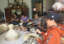 Về làng nghề nón lá Gò Găng