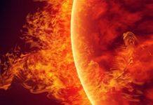 Bão mặt trời giải phóng hàng triệu hạt mỗi giờ hướng thẳng về phía Trái đất